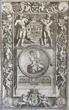 Frédéric Guillaume Ier de Prusse Freder Wilhelm estampe I. V. Vianen XVIII 1703
