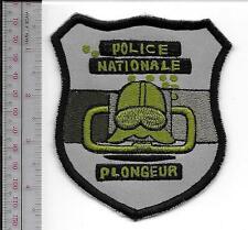 Police Diver France National Police EPIGN Dive Team Gendarmerie Nationale grey