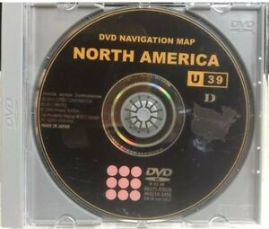 2008 & 2009 Scion xB xD tC Navigation NEW 2015 Map Update DVD Gen 5 U39 v 14.1