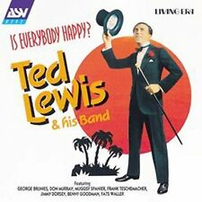 Ted Lewis - Is Everybody Happy (Audio CD - 9/21/1999)  NEW