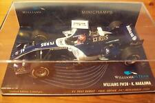 1/43 WILLIAMS 2006 FW28 kasuki Nakajima Fuji 1st F1 Test
