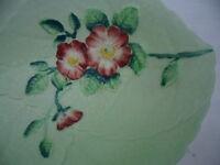 VINTAGE 1930s CARLTON WARE CARLTONWARE WILD ROSE GREEN CHINA BOWL DISH 21 CM