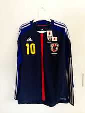 JAPAN 2013 HOME LS #10 KAGAWA CONFEDERATIONS CUP PLAYER ISSUE FORMOTION SHIRT