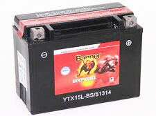 Batterie moto Banner 51314 YTX15L-BS 12V 13AH