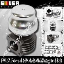 EMUSA SILVER 44/46MM Turbo External Wastegeate 4Bolt for Honda  Scion Mazda