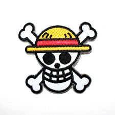 One Piece Japanese Anime Monkey Luffy Pirate Emblem Collectible Shirt Iron Patch