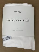Snuggle Me Organic Cotton Cover For Snuggle Me Infant Lounger White New