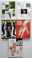 BURNE HOGARTH COLLECTION - Anatomy / Hands / Human Head / Figure Drawing / Shade