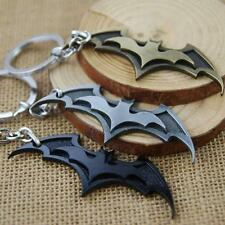 Hot Super Hero Dark Knight Batman Bat Metal Ring Keychain Pendant Key Chain Q