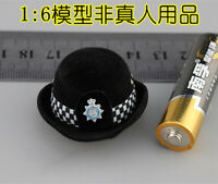 Free Shipping 1/6 MMS9005 British Metropolitan Police Service MPS Hat Model
