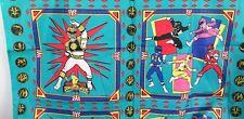 Vintage Power Rangers Fabric Quilt Pillow Panels Saban MMPR Retro oop 1990s