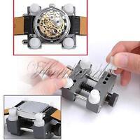 Outil d'étau d'horloger de détenteur de boîtier de montre réglable pour le solva