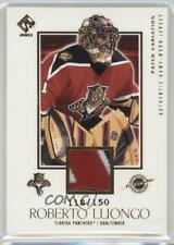 2002 Pacific Private Stock Reserve Game-Worn Jerseys /150 Roberto Luongo Patch