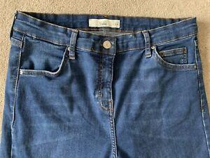 Topshop Jamie Jeans W30 L34 Blue Skinny Worn Once