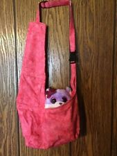 Pink Small Dog Shoulder Bag Carrier Tote Carols Crate Covers puppy holder