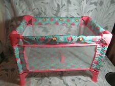 "My Sweet Love Baby Doll Folding Play Pen 18"" x 13"""