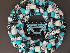 Gymnastics Ribbon Wreath / Sports Wreath / Tumbling Wreath