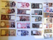 Lotto 22 Banconote Lira Italiana copie(Fac-Simile)