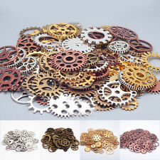 25-100g Old Steampunk Watch Parts Many Pieces Vintage Antique Gears Cogs Wheels