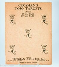 Vintage Rare WWII Antique Crosman Unused Japan Navy Target GH733