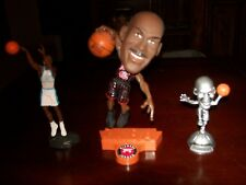 MICHAEL JORDAN LOT OF 3 STATUE FIGURES 1998 NBA PROPERTIES