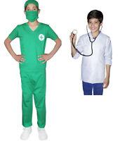 Unisex Girls Boys Fancy Dress World Book Day Doctors Surgeon Hospital Costume