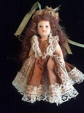 Vintage Bisque Doll, Scarlett O'Hara (?)