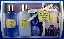 BNWT LAVENDER & YLANG YLANG Bath/Shower Body Tray Set FUN GIFT PACK - Australia