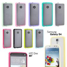 Étuis, housses et coques transparent mat en silicone, caoutchouc, gel pour téléphone mobile et assistant personnel (PDA) Samsung
