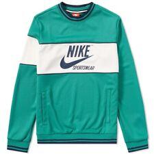 Nike Sportswear Archive Crew Sweat Top AH0715-368 Green Size XXL New