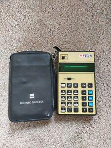Vintage Sharp Pc-1802 Calculator