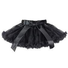 Kids Baby Girls Chiffon Fluffy Pettiskirt Tutu Dancewear Party Christmas Skirt