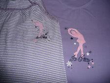 Hemdchen Mädchen 2 Stück Gr.140 Unterhemden Top Zustand Ice Princess wie Neu