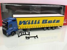 Herpa 307352 Willi Betz Volvo FH Gl. Lowliner Gardineplanen SZ in OVP