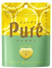 Pure Lemon Sour Gummy Candy Japan 6 Pack Lot