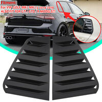 Side Window Louver Windshield Sun Shade Cover Fits For VW Golf MK7 MK7.5 GTI R