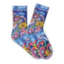 K 67951 Bell Floral Crew Women/'s Socks One Size
