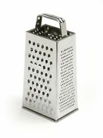"Norpro 4-Sided Stainless Steel Box Cheese Carrot Food Grater Shredder 8.25""/21cm"