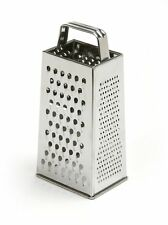 """Norpro 4-Sided Stainless Steel Box Cheese Carrot Food Grater Shredder 8.25""""/21cm"""