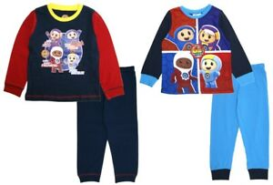 Boys Go Jetters Long Pyjamas Kids Full Length Character PJs 2 Piece Set Size