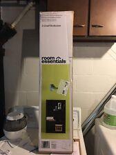 NEW Room Essentials 3-Shelf Bookcase Espresso Faux Wood Grain Style 417185