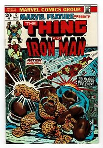 Marvel Feature 12   Iron Man & Thing   Early Thanos