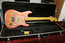 Fender Pink Paisley Stratocaster From 1988 Made In Japan With Fender Molded Case