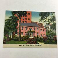 VINTAGE 1930s Mini Photographs Souvenir Pictures Savannah GA Old Pink House