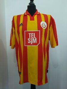 Galatasaray Istanbul 2000/2001 Heim Trikot Shirt Jersey (L) ADIDAS Vintage TOP