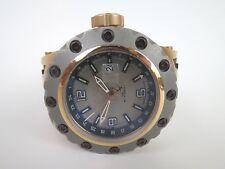 Invicta Reserve Subaqua Specialty GMT 20124 Rose Gold Case Black Strap 52mm