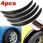 4x Universal Carbon Fiber Fender Flares Wheel Lip Body Kit Car Decoration 24.5cm