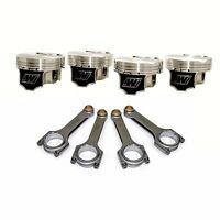 FOR SUBARU STI EJ257 MANLEY H-BEAM CONNECTING RODS WISECO 100MM FORGED PISTONS
