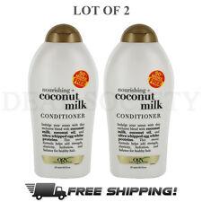 OGX Organix Coconut Milk Conditioner 19.5 fl oz - Lot of 2