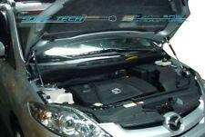 89-92 Mazda RX-7 FC RX7 S5 Black Strut Gas Lift Hood Shock Stainless Damper Kit